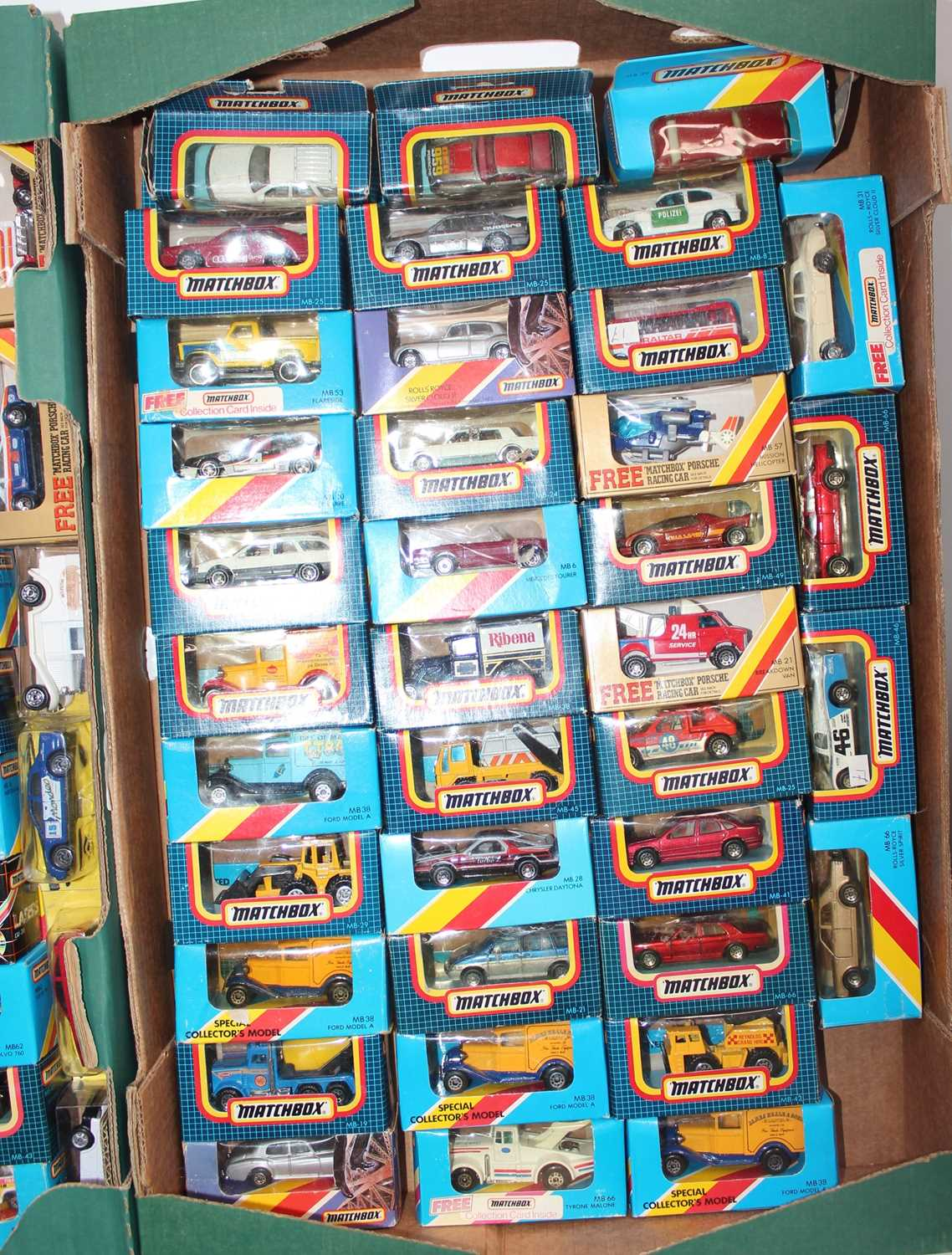 Matchbox group of 100+ models on cards or in boxes (some opened, packaging needs attention and - Image 3 of 4