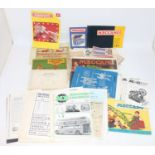 One box containing a quantity of various Meccano literature, mixed ages, to include various