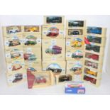 Two boxes containing a quantity of mixed modern issue Corgi Classics and public transport diecast,