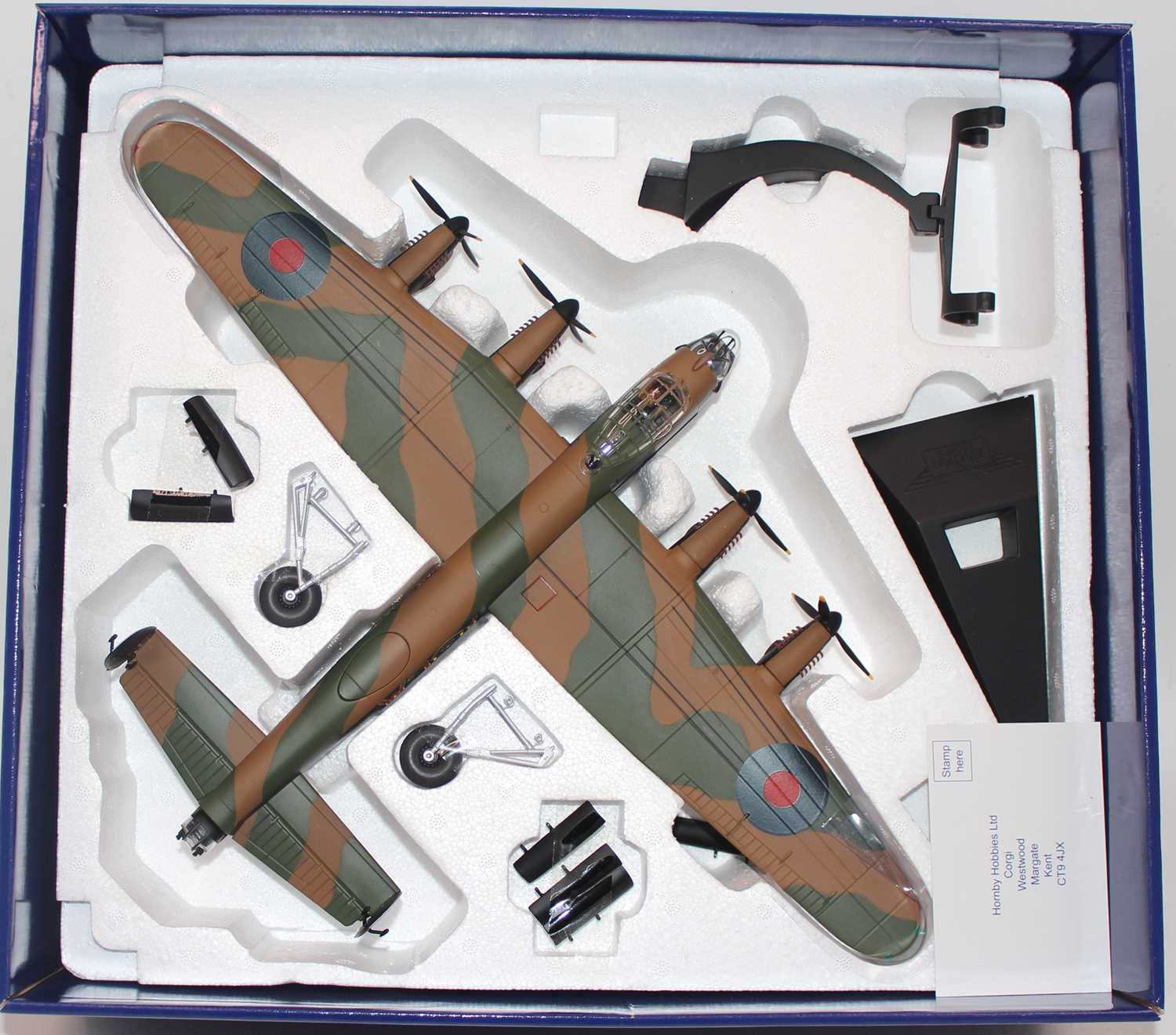 A Corgi Aviation Archive model No. AA32619 1/72 scale limited edition diecast model of an Avro - Image 2 of 2
