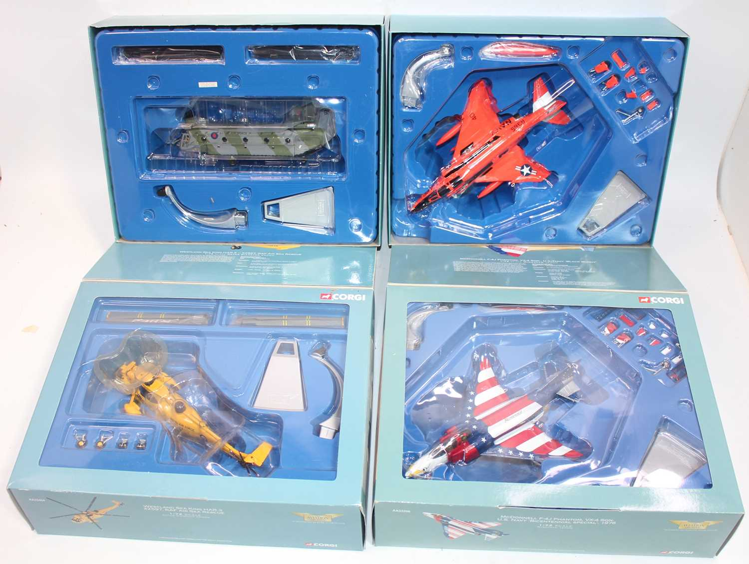 Four various boxed as issued Corgi Aviation Archive 1:72 diecast aircraft, mixed examples to include - Image 2 of 2