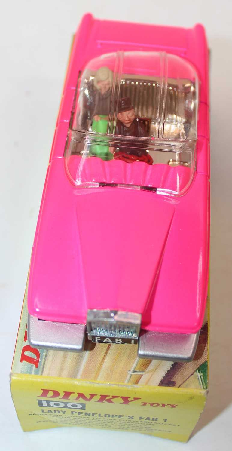 Dinky Toys Boxed 100 Lady Penelopes FAB 1 From TV series 'Thunderbirds' in the rarer fluorescent - Image 5 of 7