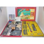 A large quantity of very rare Schuco Disneyland Alweg Monorail items, to include 3 car monorail unit