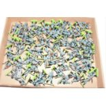 Tray of various Britains Detail German Soldiers, approx 80+ in various poses, all in excellent