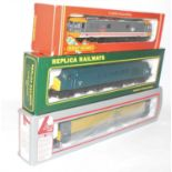 A boxed 00 gauge locomotive diecast group to include a Hornby R388 Frank Hornby Bo-Bo electric