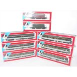 A collection of Lima 00 gauge boxed coaches and wagons to include six various boxed Lima Scotrail