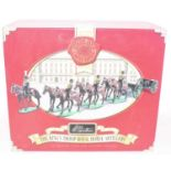 Britains, 40188 The Kings Troop Royal Horse Artillery, horses, gun, limber, appears complete, in the
