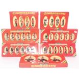 Seven various boxed as issued Britains metal model series military figure groups, mixed examples