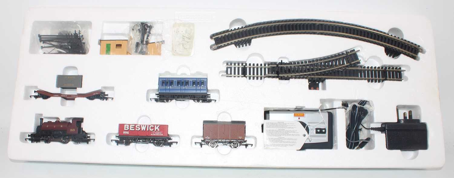A Hornby Railways City Industrial boxed train set comprising of FR 0-4-0 locomotive and four - Image 2 of 2