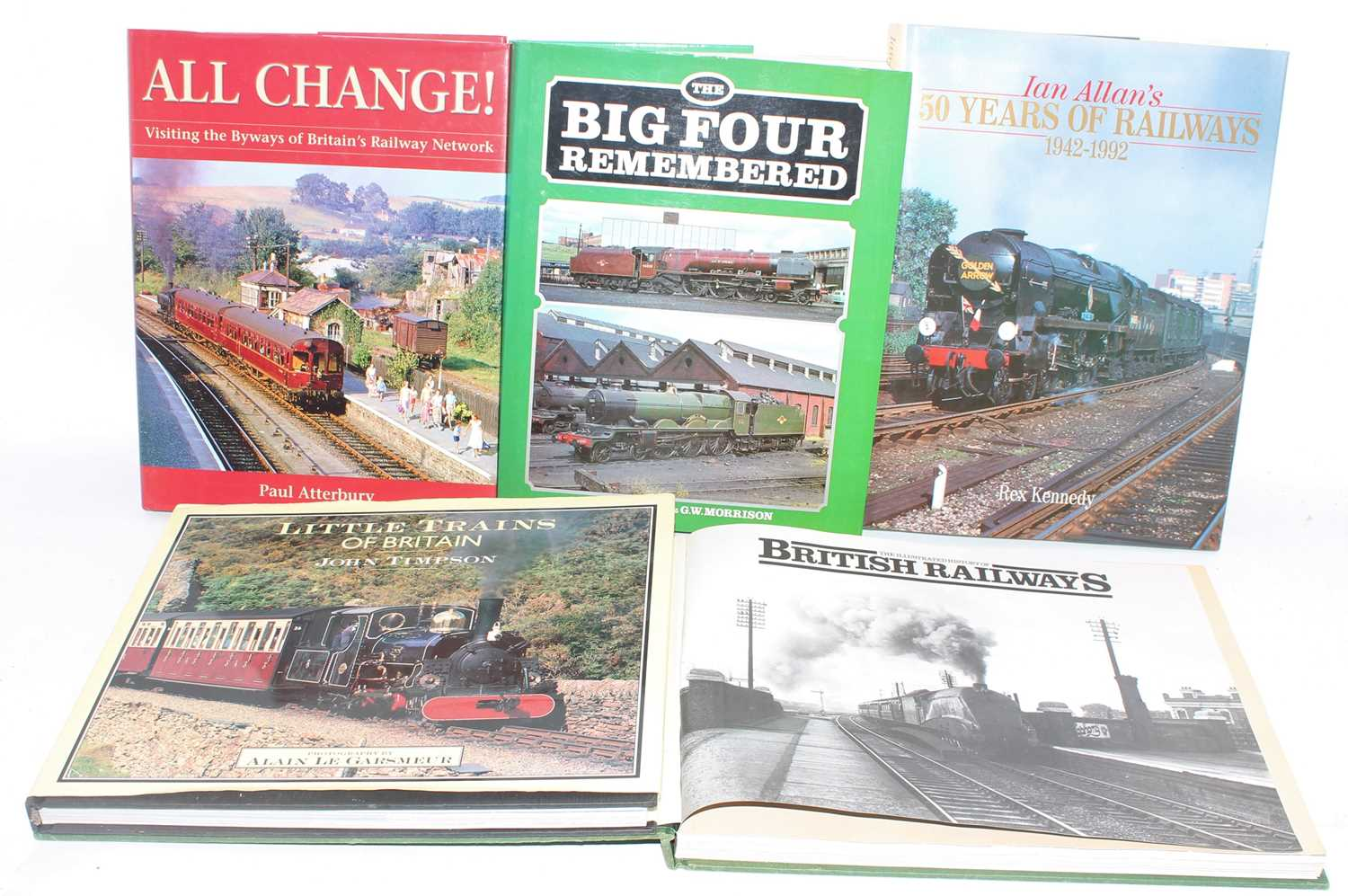 Five general interest/picture books. Railway subjects. All (E)