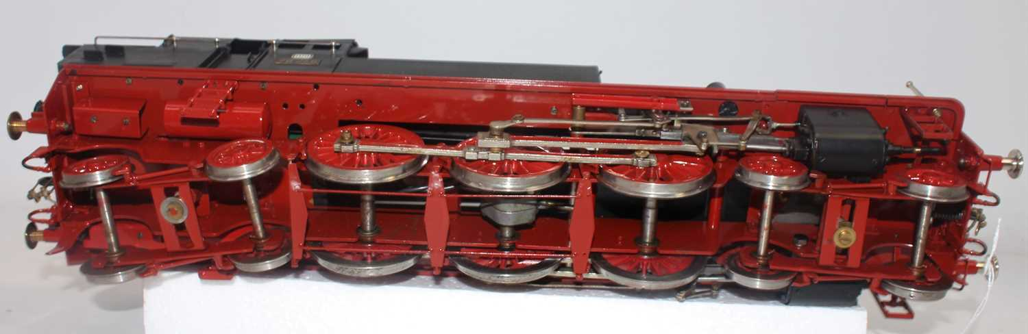 Unidentified make Gauge 1 4-6-4 steam outline model DB78246 powered by electric motor. Body black - Image 3 of 3