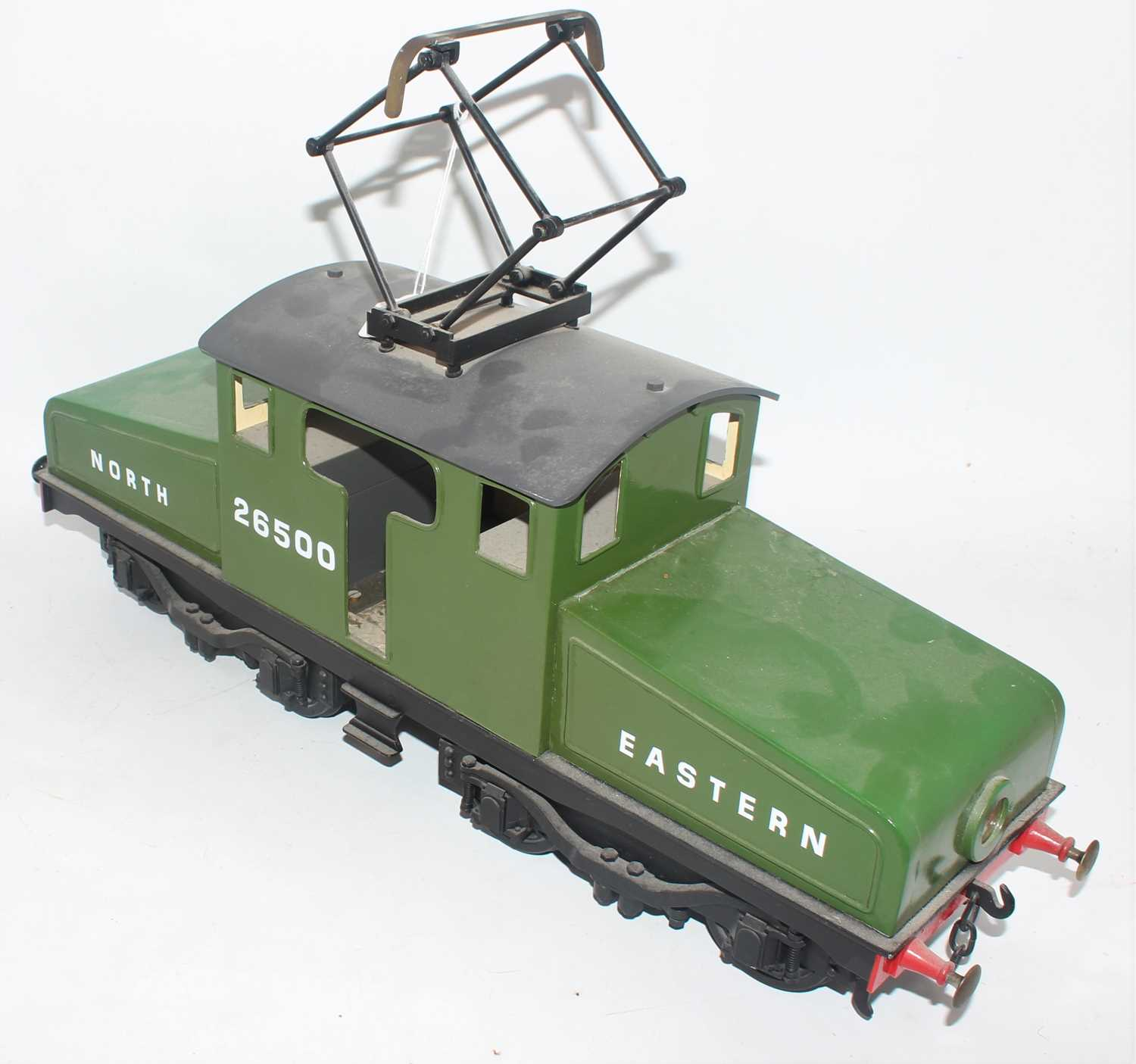 """A 3"""" gauge electrically operated model of a North Eastern No. 26500 Steeple cab locomotive, finished - Image 2 of 2"""