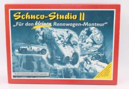 A Schuco No. 01222 tinplate kit for a Studio 2 Auto Union Type C race car housed in the original