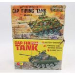 A pair of Marx tanks both boxed untested.