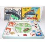 Codeg Boxed Battery operated Monorail set, housed in the original box together with 1970s Paris-
