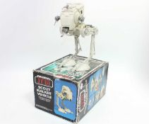 A Star Wars Palitoy Return of the Jedi Scout Walker vehicle, appears complete and housed in the