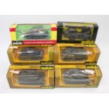 Six various window boxed Solido military diecast vehicles all appear as issued to include a