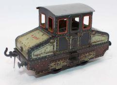 Circa 1905-10 '0' gauge Bing electric loco for CLR (Central London Railway) no. 23 4 volt electric