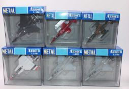 A group of 14 Collection Armour 1:100th scale military aircraft, all boxed as follows: Eagle x7, M.