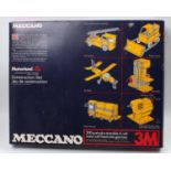 Three various boxed Meccano motorised 1970s/80s construction sets, to include No.3M, No.5 and No.