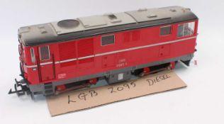 LGB BoBo diesel loco OBB 2095-11, red (NM)