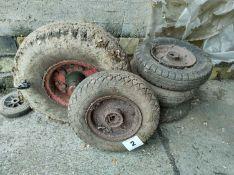 Qty of Trailer Wheels