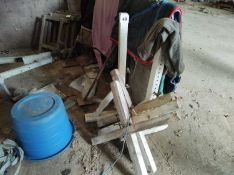 Qty of Equestrian Jump Wings and Jump Pole