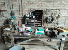 Workbench with Vice & Guillotine