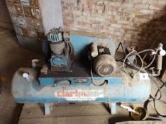 Clarke Air Compressor & Tools (With Certificate)
