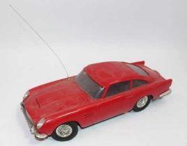 Imai (Imaikagaku Japan) very large scale radio controlled plastic model of an Aston Martin DB5 c.