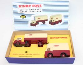 """Dinky Toys boxed code 3 by Transport of Delight 30VW """"British Railways"""" Electric Vehicles gift"""
