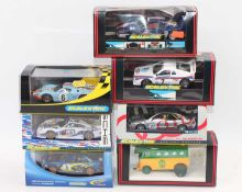 One tray containing 7 boxed Scalextric racing cars as follows: C589, C144, C2341, C421, C2404 and