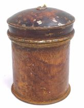 A GER Stamped string box/dispenser, from Bury St Edmunds Parcels Office, Rare