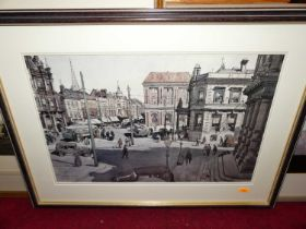 W Heaton Cooper, lithograph, together with one other for Leonard Russell Squirrell depicting The