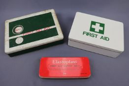 Cromessol and other vintage first aid kits
