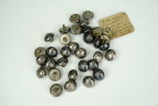 A quantity of 19th Century Madras Light Cavalry buttons, 16 mm