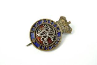 A Victorian Royal Military College Sandhurst cadet's cap badge