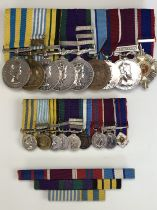 An extensive QEII campaign and long service medal group, that of 22353588 Pte / WO Cl 1 T McWilliams