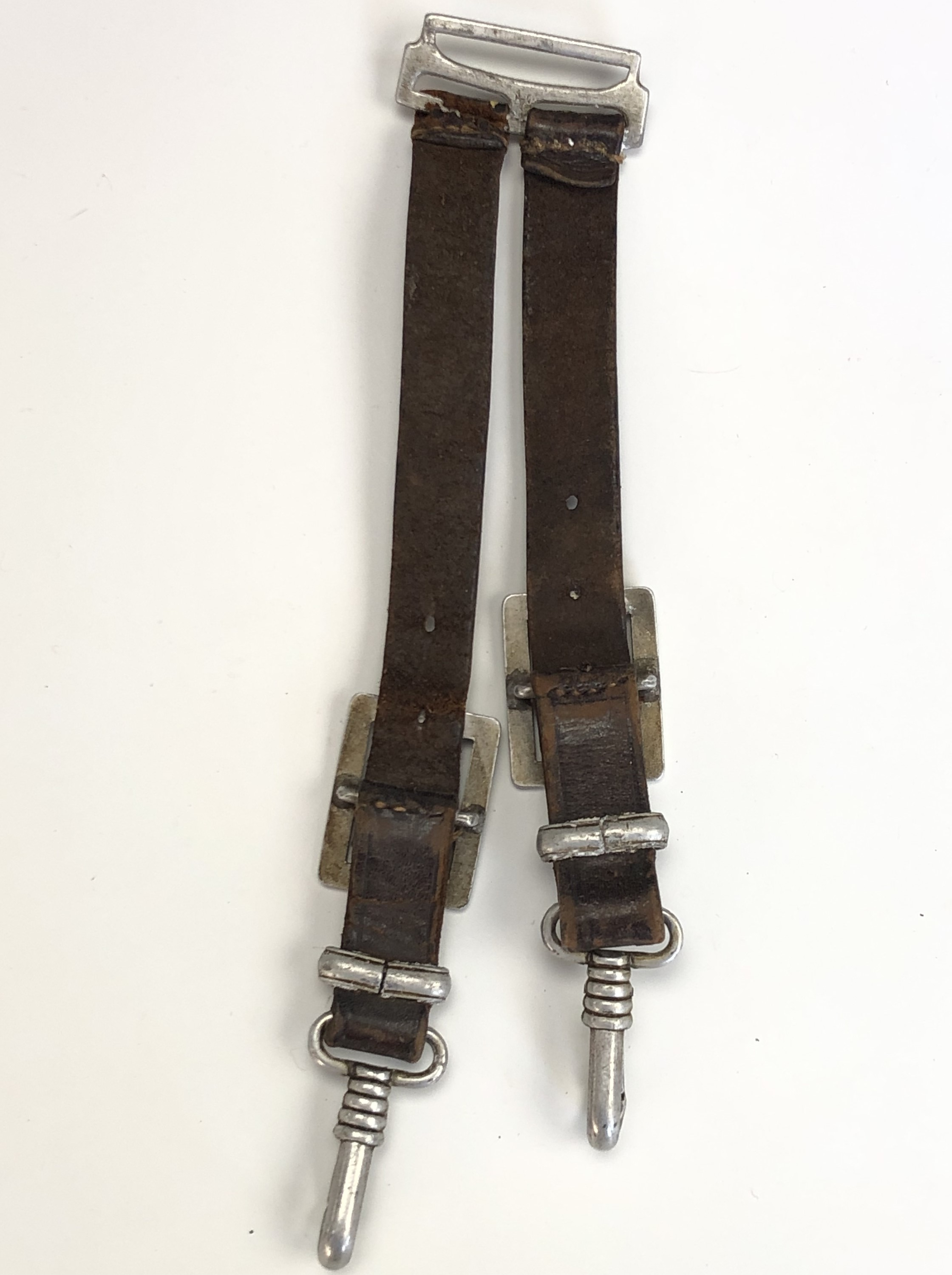 A German Third Reich RAD officer's dagger by Alcoso, with hanging straps - Image 9 of 9