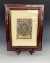 [Victorian Cross / Medal] A period watercolour portrait of Major Richard Raymond Willis, VC, 1st
