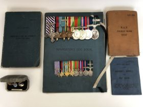 An RAF Distinguished Flying Cross and Air Efficiency with bar medal group, that of 754269 Flight