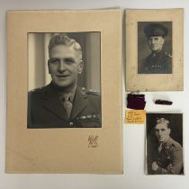 [Victoria Cross / Medal] A Great War period portrait postcard of Private Wilfred Edwards, VC, 7th