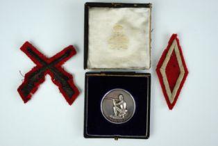 A Victorian 1st Volunteer Battalion Border Regiment best company shot prize medallion won by