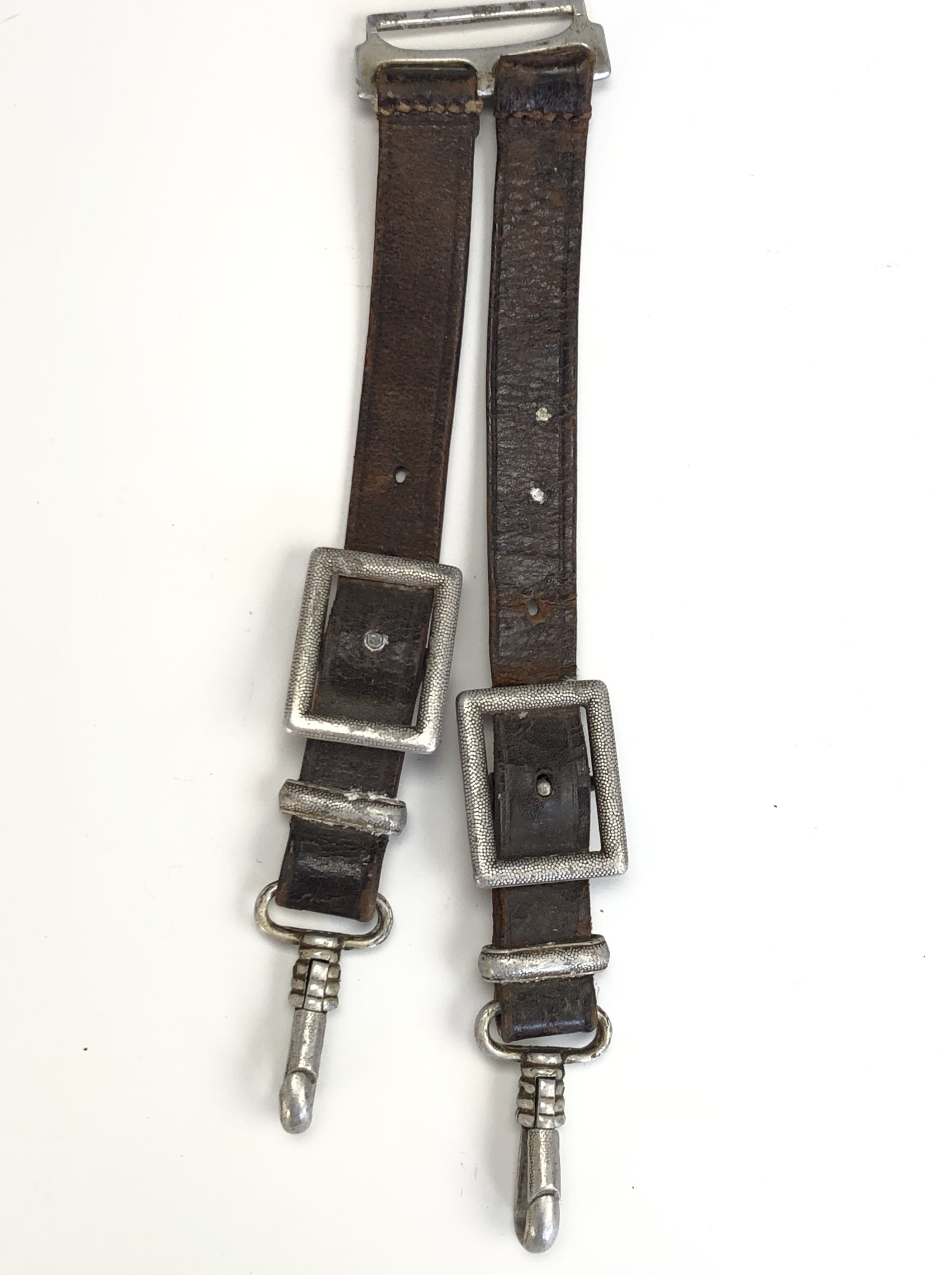 A German Third Reich RAD officer's dagger by Alcoso, with hanging straps - Image 8 of 9