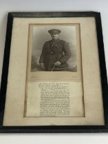 [Victoria Cross / Medal] A period studio portrait photograph of Captain George Stewart Henderson,