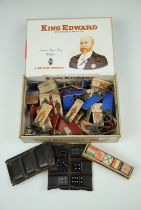 A Great War game comprising printed standing cards depicting military figures, aircraft, ships and