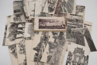 A group of Great War period postcards including a number of French photographic studies of