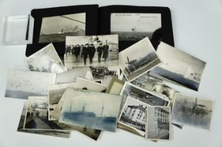 An uncommonly fine Second World War Royal Navy Fleet Air Arm photograph album, containing a large