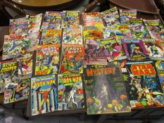 Quantity of various Marvel and other comics