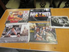Four sets of film promotional cards, ' The Paper ', ' The Chamber ', ' Metro ' and ' Basket